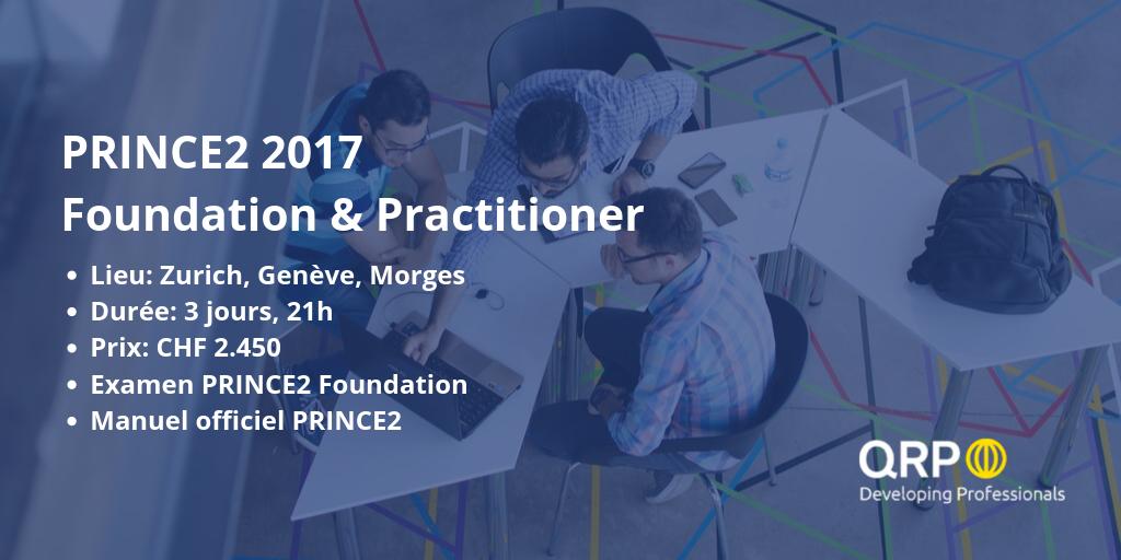prince2 foundation examen cours