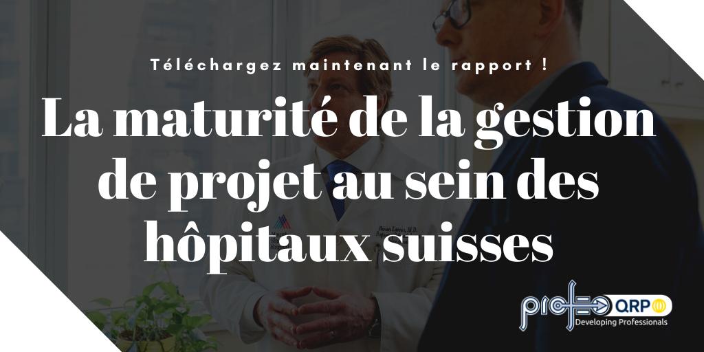 gestion de projet hôpitaux suisses