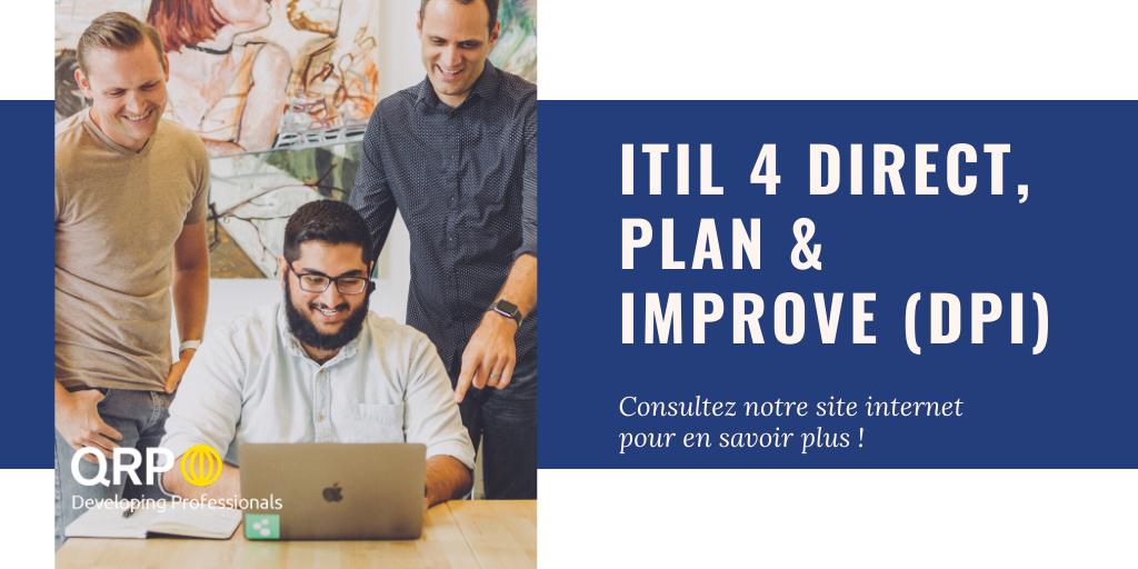 ITIL 4 Strategist Direct, Plan & Improve.