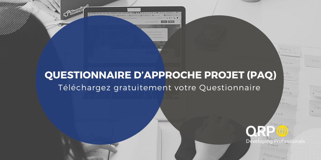agilepm questionnaire d'approche projet PAQ