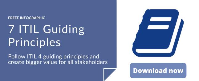 7 ITIL guiding principles