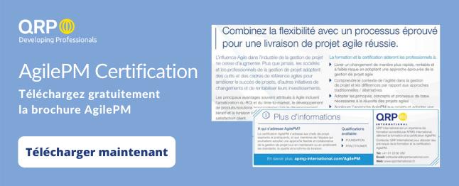 agile project management brochure