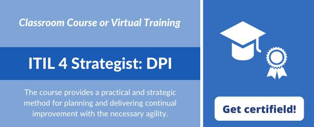 ITIL Direct Plan Improve ITIL 4 Strategist