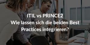 ITIL PRINCE2 projekt management