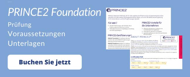 prince2 foundation prüfung