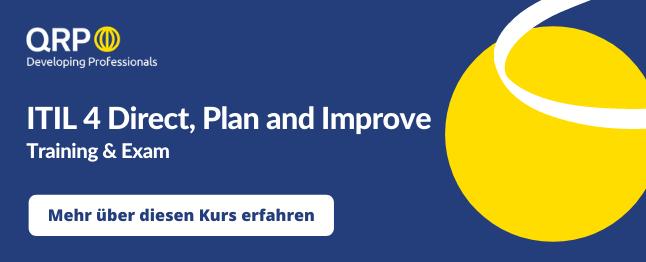 ITIL v4 Direct Plan Improve