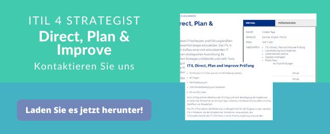 ITIL Direc Plan Improve Prufung Kurs