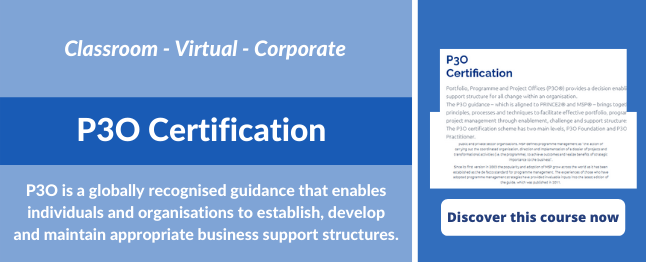 Portfolio-Programme-Project-Offices-P3O-courses-training