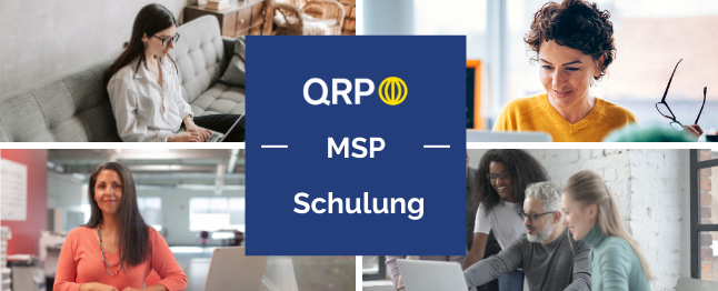 MSP Programmmanagement Zertifizierung
