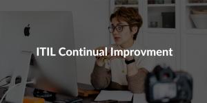 ITIL Continual Improvment