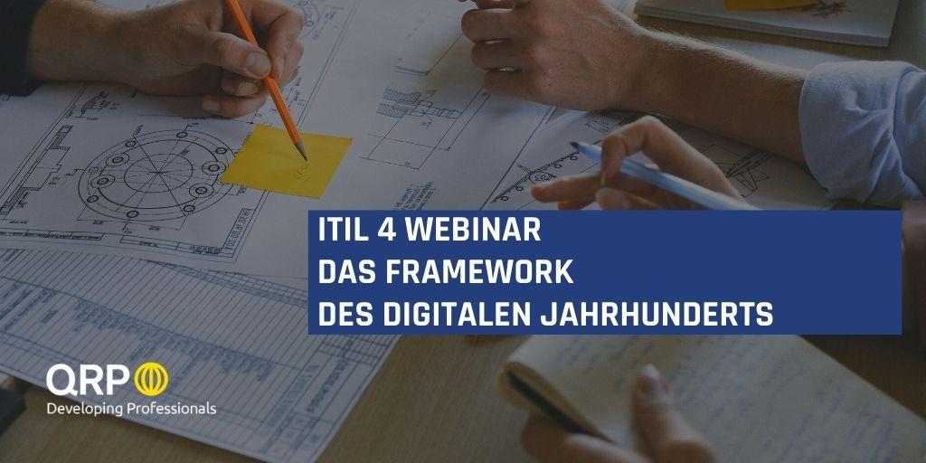 ITIL v4 Webinar Framework digitaler Jahrhundert